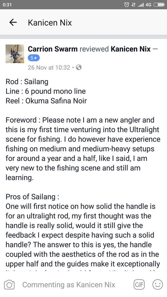 kanicen nix sailang testimonial