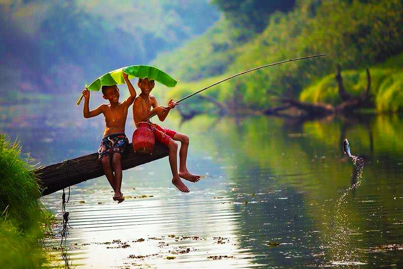 fishing memory